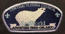 Central Florida Council Bsa Tipisa Oa Lodge 326 Sea World Polar Bear Rare Csp