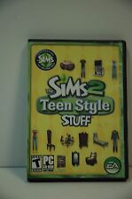 Computer PC CD Rom THE SIMS 2 TEEN STYLE STUFF Complete in Case