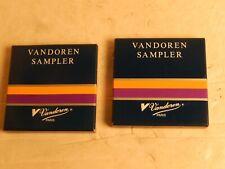 Vandoren Paris Sax Saxophone Reed Sampler New in package Pair 8 pcs.