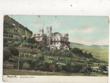 Tenerife Quisisana Hotel Spain Vintage U/B Postcard 950a