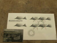 2000 GB Stamps FDC - Millenium Timekeeper mini sheet - Jackson collection