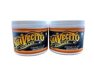 Suavecito Pomade Firme Clay 4 OZ Set of 2
