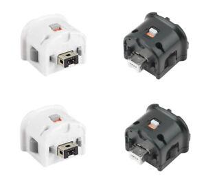 Nintendo Wii Controller ORIGINAL Motion Plus Adapter (Schwarz / Weiß)