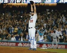 CLAYTON KERSHAW LOS ANGELES DODGERS SIGNED AUTOGRAPH 8X10 PHOTO