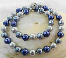 Pretty tribe10mm Multicolor South Sea Shell Pearl Necklace Bracelets Earrings