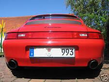 Porsche 911 993 CUP RS Endrohre 105mm Sportauspuff V2A Super Optik