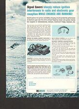 VINTAGE AD SHEET #1428 - HALLETT BOAT MOTORS