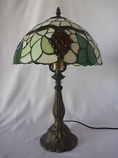 Vineyard Leadlight Touch Lamp
