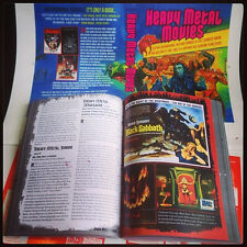 HEAVY METAL MOVIES 568pp Deluxe Softcover *Conan/Mad Max/Sabbath/LOTR/Horror/NEW