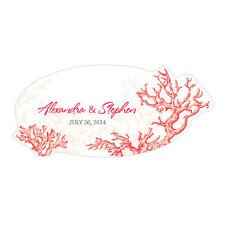 Coral Reef Large Window Cling Wedding Reception Ceremony Decoration