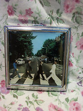 NEW THE BEATLES ABBEY ROAD COMPACT WITH MIRROR