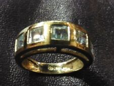 Very Beautiful Ring Vintage Stone Delicate On Silver 925 France T 53