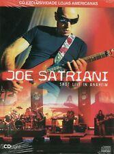 Joe Satriani CD Shot Live In Anaheim Brand New Sealed