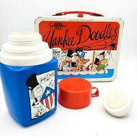 VTG Yankee Doodles 1975 Lunch Box w/ Thermos Thermos Division King-Seeley