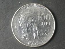MONETE REPUBBLICA 1979 LIRE 100 ASSE SPOSTATO 180 GRADI