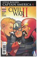 Captain America: Steve Rogers #4 (October 2016, Marvel Comics)