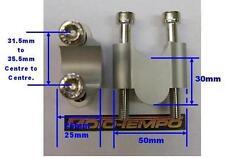 CNC 30mm BAR ELEVADORES LEVANTADORES para Yamaha MT-03 FZS 600 1000 FZ1 FZ6
