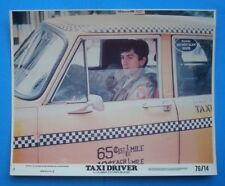 1976 *Taxi Driver* 8x10 Color Movie Photo De Niro Scorsese Mini Lc Nss 76/14