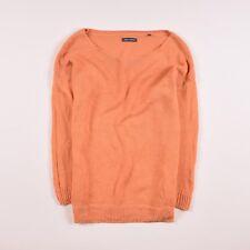 Marc O'Polo Damen Pullover Sweater Strick Gr.XL (DE 42) Leinen Orange, 50909
