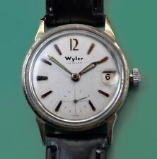 Vintage 50's WYLER Incaflex  Sport Men's Watch With Original Box