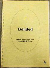 """Due South Fanzine """"Bonded"""" SLASH Frasier Vecchio"""