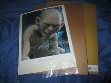 LORD OF THE RINGS Gollum Fan Club Exclusive Signed/#d Movie Photo ANDY SERKIS