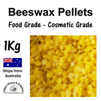 1kg - Beeswax Pellets (100% Purity, Highly Refined, Natural Foodgrade Wax)