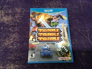 Tank Tank Tank (Nintendo Wii U, 2012) Video Game Disc With Manual