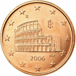 [#722577] Italie, 5 Euro Cent, 2006, TTB, Copper Plated Steel, KM:212