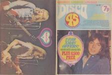David Cassidy Status Quo Barry Blue Simon Park UK Mag