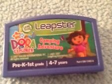 Leap Frog Leapster Dora the Explorer Camping Adventure Educational Game