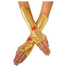 Wonder Woman Costume Gauntlet Gloves Kids Adults One Size Cos Props Gifts New