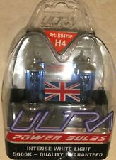 H4 ULTRA POWER BULBS H4 XENON BULBS UPGRADE ULTRA H4 POWER BULBS 5000k