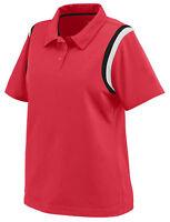 Augusta Sportswear Women's Polyester Short Sleeve Genesis Polo Shirt. 5048