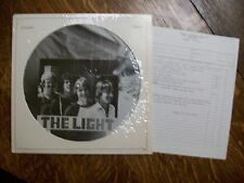 THE LIGHT 1982 LA DIY Power Pop/New Wave PICTURE DISC EP - NM