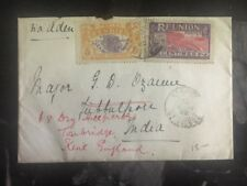 1922 St Pier Reunion Redirected Cover To Jabalpur India