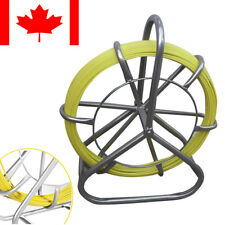 6mm 130m Fish Tape 6mm Fiberglass Wire Cable Running Rod Duct Rodder Puller CA