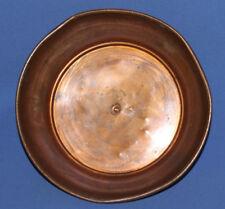 Antique 19c hand made copper bowl