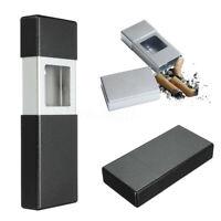 Aluminum Mini Portable Cigarette Smoking Ashtray Push-pull Pocket Travel Stable