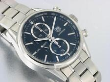 TAG HEUER CARRERA GENTS CALIBER 1887 CHRONOGRAPH AUTOMATIC WATCH CAR2110-4 w/BOX