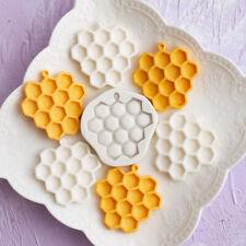 Honeycomb Bee Silicone Mould Mold Sugarcraft Icing Fondant Cake Decorating Tool