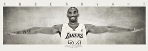 New Kobe Bryant Wings HUGE 2x8 ft Banner Poster Flag High Quality Life Size