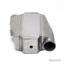 """REV9 Type 1 Universal Aluminum Air to Water Intercooler 12""""x13""""x4.5"""" 3"""" in/out"""