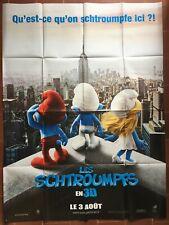Affiche LES SCHTROUMPFS The Smurfs RAJA GOSNELL Chambre d'Enfant  120x160cm