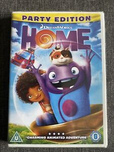 Home - Party Edition (2015 Dreamworks) NEW SEALED DVD