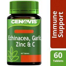 Cenovis Echinacea Garlic Zinc & C Tablets 60 pack