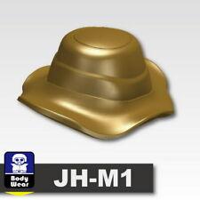 Dark Tan Boonie Hat Cap for LEGO army military brick minifigures