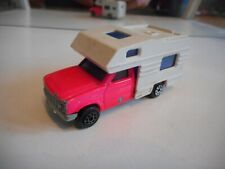 Majorette Camping Car in Pink/White