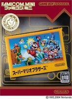 Nintendo Game Boy Advance GBA SUPER MARIO BROS. Famicom Mini JAPAN