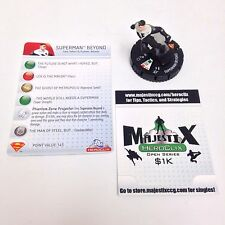 Heroclix Superman set Superman Beyond #105 Limited Edition figure w/card!